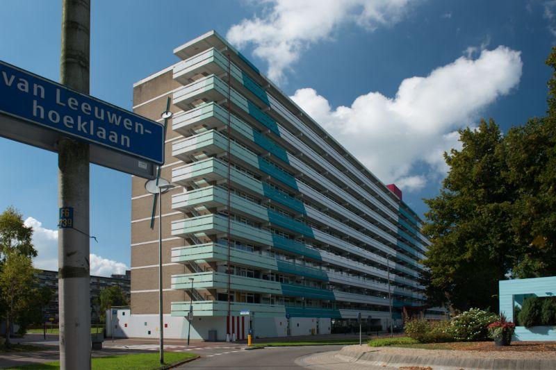 Renovatie wooncomplex Van Leeuwenhoeklaan