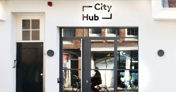 Transformatie meubelloods naar CityHub