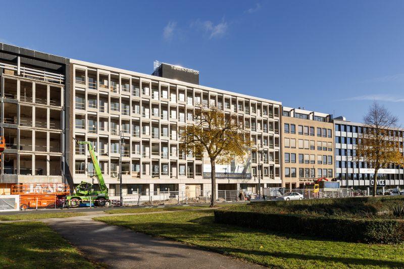 Transformatie kantoor tot appartementen