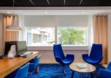Transformatie kantoor tot Holiday Inn Express Rotterdam :   HIEX Rotterdam