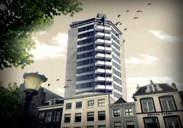 Transformatie kantoorpand Neudeflat naar appartementen : De Neudeflat Utrecht